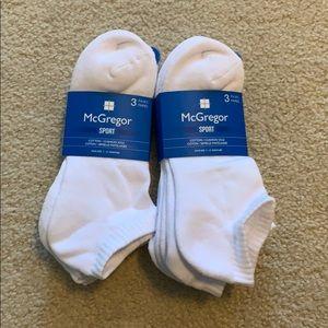Men's white socks